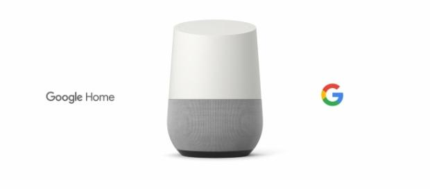 Google Home speaker - Screenshot Google YouTube