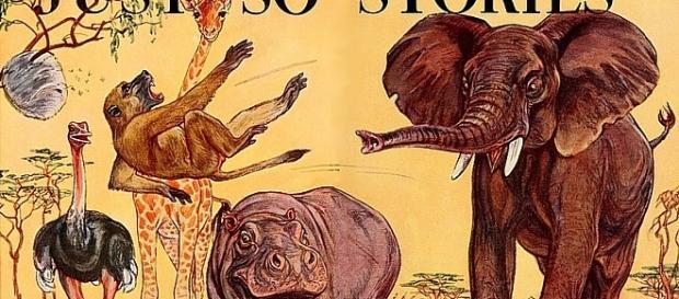 Ilustracja do jednego z opowiadań Kiplinga - ulubionego pisarza Cata-Mackiewicza (fot. Public domain)