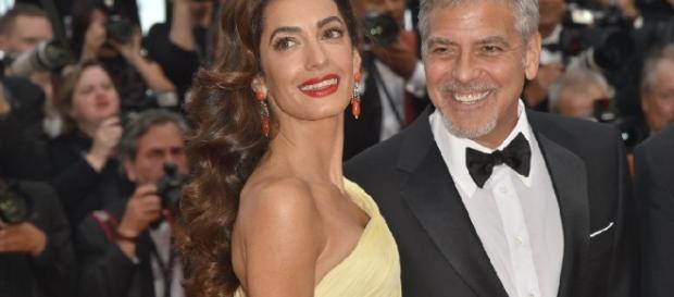 Nacen los gemelos de George y Amal Clooney, Ella y Alexander ... - com.ec