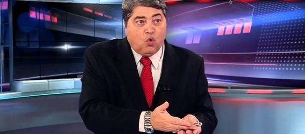 O apresentador resolveu dar sua opinião sobre a emissora (Foto Reprodução - Band)