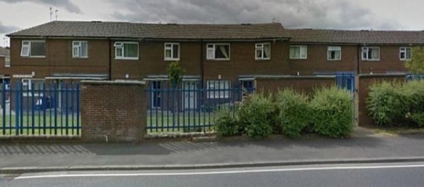 Polícia foi chamada a essa rua, em Lancashire