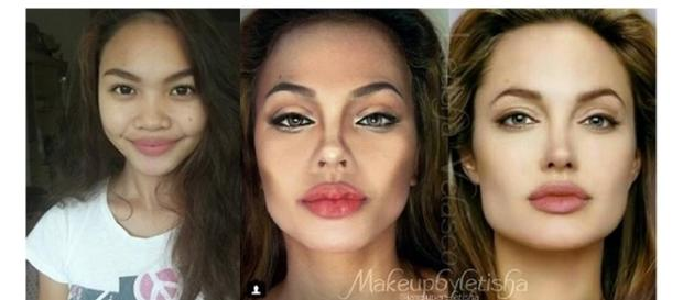 Letisha Velasco: transformações incríveis usando maquiagem