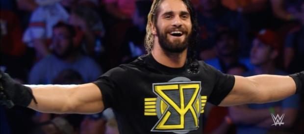 WWE star Seth Rollins wants to face 'The Phenom' in the squared circle. [Image via Blasting News image library/pinterest.com]