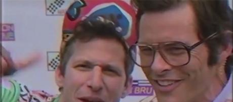 "James Marsden joins Andy Samberg in the upcoming ""Tour De Pharmacy."" (Youtube screen grab)"
