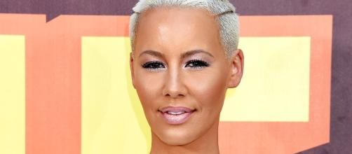 Amber Rose crotch shot lives on despite being taken down from Instagram. Photo: Blasting News Library ... - usmagazine.com
