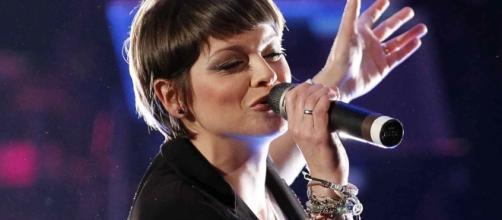 La cantante salentina Alessandra Amoroso