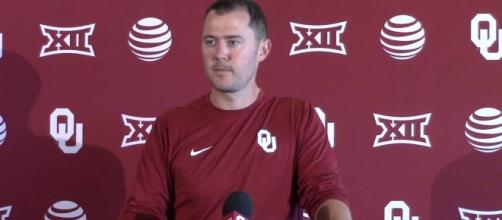 Lincoln Riley, Oklahoma Sooners - YouTube screen cap