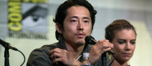 "Steven Yeun updates fans on latest project after ""The Walking Dead."" (Flickr/Gage Skidmore)"