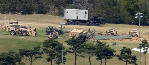 THAAD $1billion US missile defence system spotted on South Korea ... - thesun.co.uk