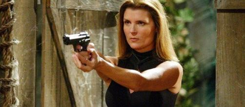 """The Bold and The Beautiful"" Spoilers: Kimberlin Brown back as Sheila Carter (image via Twitter, CBS Daytime)"