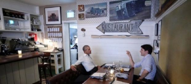 Barack Obama, Justin Trudeau dine together in Canada - washingtonexaminer.com