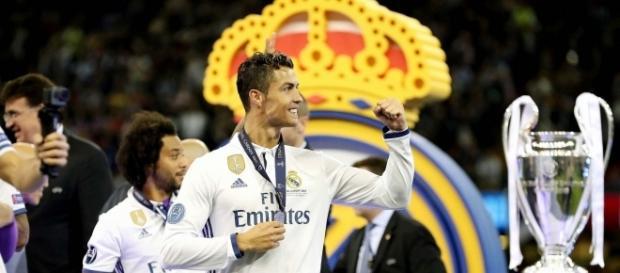 Cristiano Ronaldo vainqueur de la LDC avec le Real Madrid