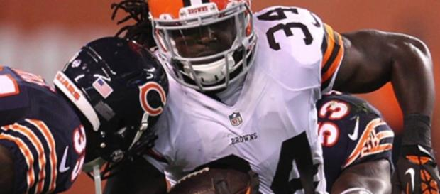 Isaiah Crowell, Cleveland Browns - YouTube screen cap