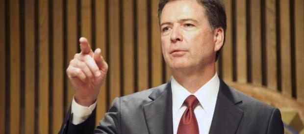 James Comey testifies ( Image source BN library)