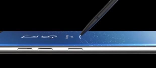 Samsung Galaxy Note 8/ Photo screencap from Droidwiki via Youtube