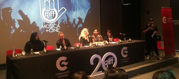 Sara Hoch, directora del GIFF durante la presentación del ciclo Música + GIFF.