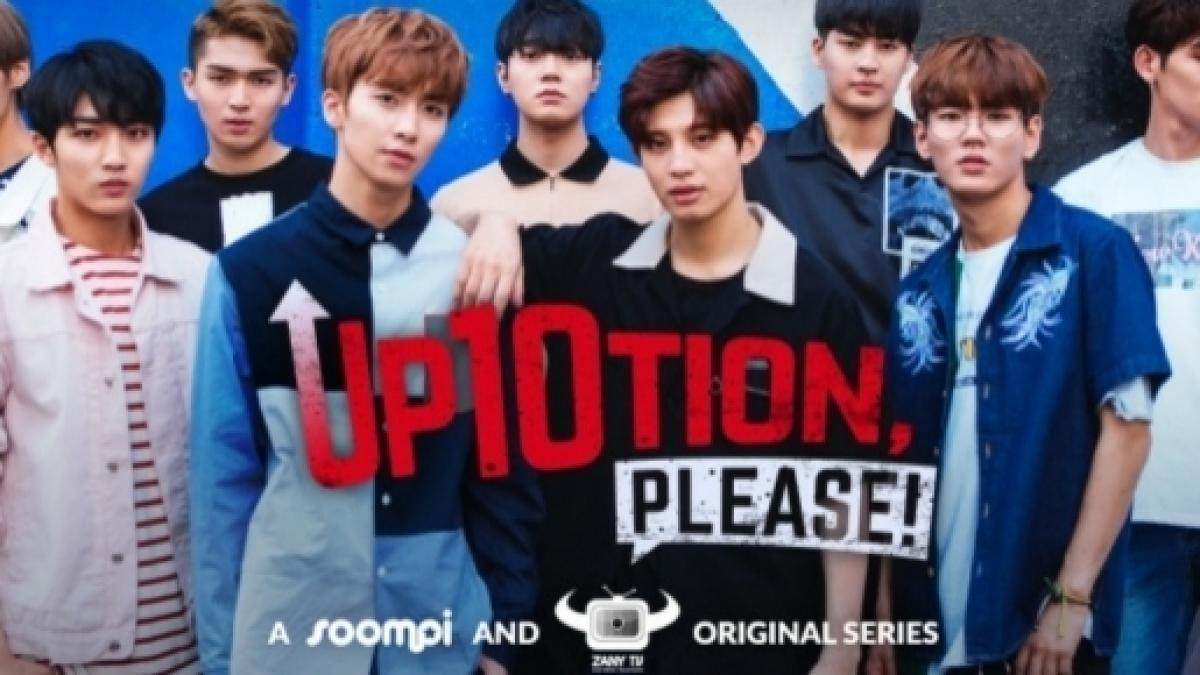 Viki and Soompi team up with ZanyBros for 'UP10TION, Please '