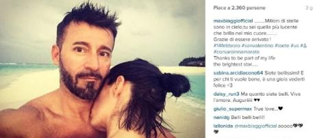 Max Biaggi e Bianca Atzei a un passo dal matrimonio – Tvzap - kataweb.it
