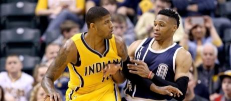 Paul George will play with Russell Westbrook next season - Screenshot