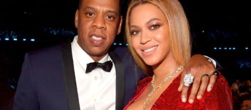 Beyonce' and Jay Z via Elle.com