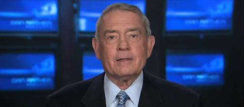 Dan Rather bewails Trump's lack of decency after the president's Mika tweets. Photo via Dan Rather Reports, YouTube.