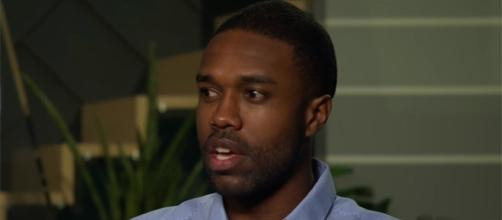 """DeMario Jackson is clearing his name of those sexual allegations thrown at him for his participation in """"Bachelor in Paradise."""" (YouTube/E! News)"""