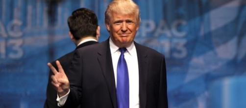 Donald Trump warns North Korea Image via Wikimedia Commons