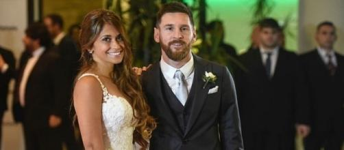 ¡Felicidades, Señor y Señora Messi!