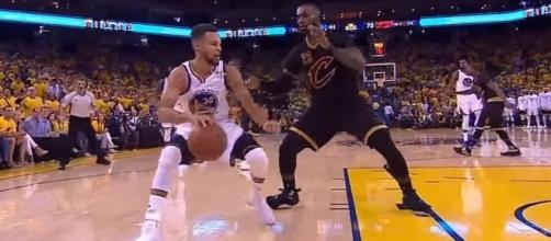 LeBron James and Stephen Curry - YouTube/NBALife