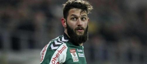 Oliver Kragl centrocampista del Frosinone.