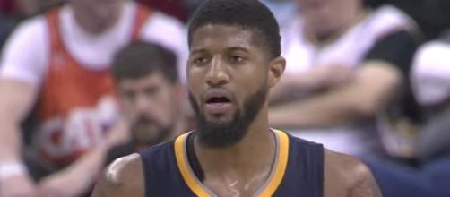 Paul George is heading to the Oklahoma City Thunder in a trade with the Pacers according to reports on Friday. [Image via NBA/YouTube]