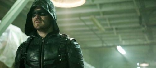 Stephen Amell as Oliver Queen for 'Arrow'/Photo via 'Arrow'/Screenshot