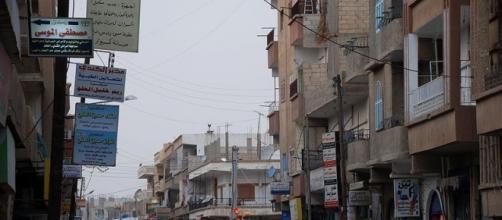 Street in Syrian city of Raqqa (wikimediacommons)