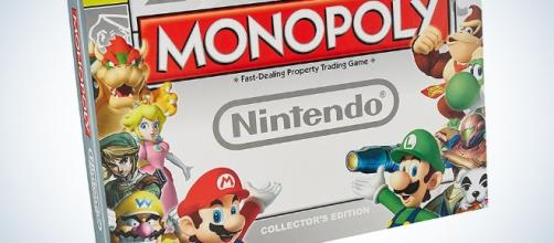 Super Mario Bros Monopoly Collectors edition