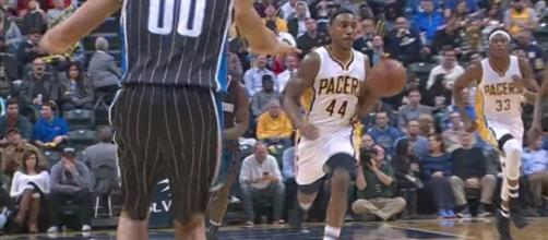 The Timberwolves have signed former Indiana Pacers guard Jeff Teague to a three-year deal, per ESPN. [Image via NBA/YouTube]