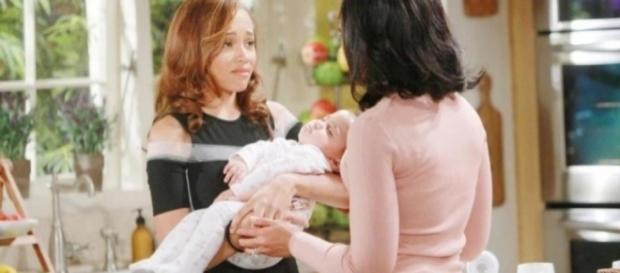 Beautiful, anticipazioni Usa: Lizzie viene adottata dai Raya.