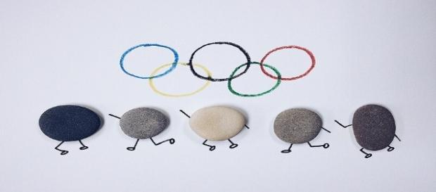 Icono de los Juegos Olímpicos. Imagen: Public Domain.