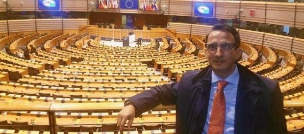 Il dott. Puzone in visita al Parlamento europeo