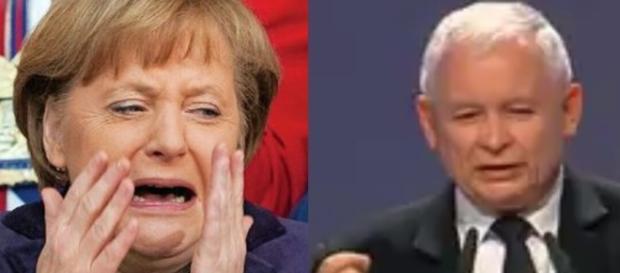 Mocne słowa Kaczyńskiego o Niemcach! (źródło: youtube.com, google.com).