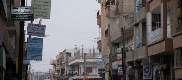 Street in Syrian city of Raqqa (wikimediacommons)
