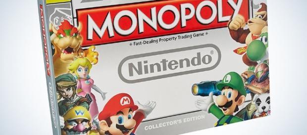 Super Mario Bros Monopoly Collectors edition