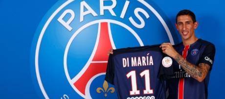 Bienvenido Angel Di Maria - PSG.fr - psg.fr
