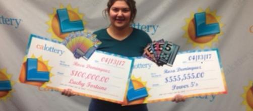 A California teen wins the lottery twice in one week (Image Credit: FOX News/q13fox.com)