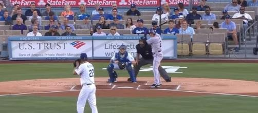 Clayton Kershaw on path to another Cy Young Award - youtube screen capture / MLB