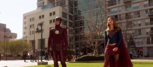 "Erica Durance is set to replace Laura Benanti on ""Supergirl"" season 3. Image via YouTube/ChasingScenes"