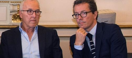 Franck MCCourt et Jacques-Henri Eyraud