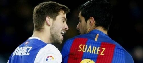 Inigo Martinez y Suarez. El Barça vence en Anoeta (0-1). Noticias de Gipuzkoa