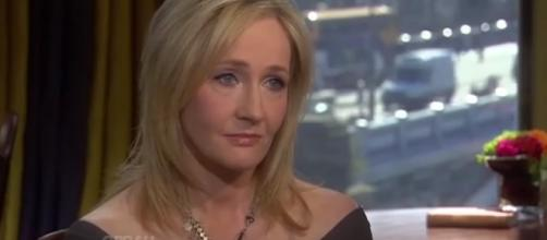 J.K. Rowling/YouTube screenshot/https://www.youtube.com/watch?v=bDOs5JzLnLk