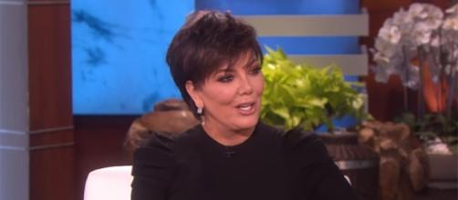 Kris Kardashian hasn't spoken out about the drama between her son, Rob and Blac Chyna. (YouTube/The Ellen Degeneres Show)