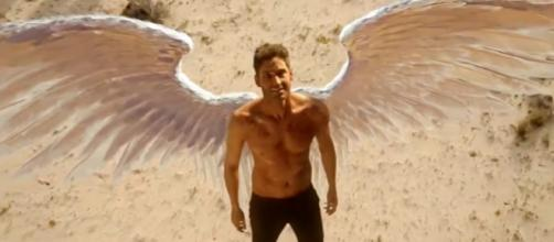 """Lucifer"" Season 3 Episode 1 will reveal how the devil got his wings back. (Photo:YouTube/LuciChloe/https://www.youtube.com/watch?v=8lXt8EkKthI)"